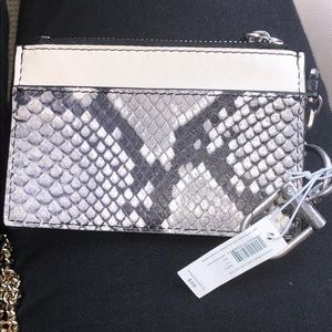 PRICE FIRM!! NWT tory burch card pouch